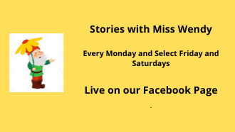 Stories with Miss Wendy flyer