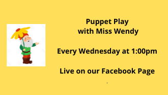 Puppet play with miss wendy