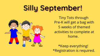 Silly September flyer