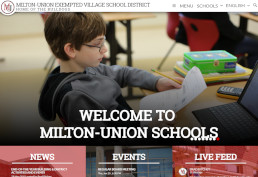 Milton Union Exempted Village School District screenshot